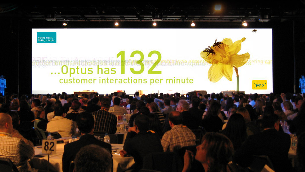 Moving to the Front, Optus CEO Forum
