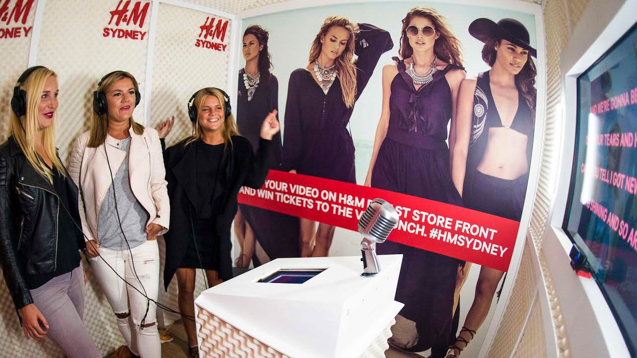 Recording Studio, H&M Sydney Flagship Store Opening